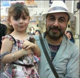 رضا عطاران و دخترش