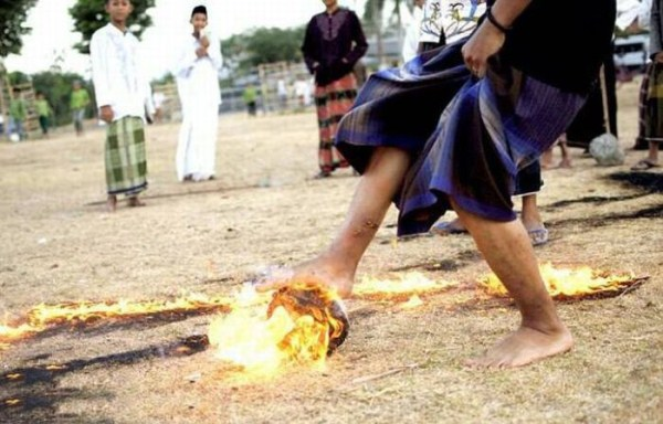 526 Flaming Soccer in Indonesia