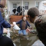 خسارت های طوفان سندی در آمریکا +تصاویر