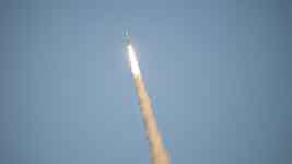 موشک فضایی