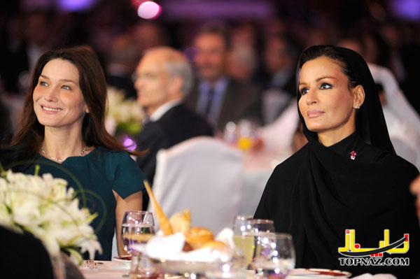 زن ایرانی امیر قطر