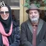 عکسی از سیروس مقدم و همسرش