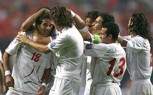 برد فوتبال ایران