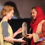 گلشیفته و نیکی کریمی در مراسم اهدای جوایز جشنواره ابوظبی