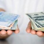 قیمت دلار، یورو، درهم و لیر مبادلاتی افزایش یافت