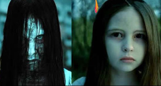 دختر ترسناک