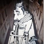 نقاشی های جالب در فضای خالی ساختمان ها