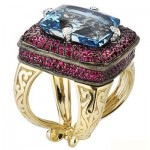 مدل های زیبای انگشتر جواهر