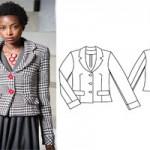مدل لباس های شیک زنانه با الگو