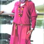 مدل لباس شیک پوشیده مجلسی زنانه