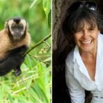 داستان جالب زنی که با میمون ها بزرگ شد +عکس