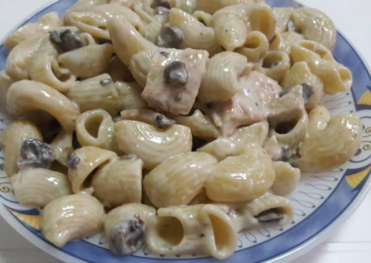 طرز تهیه پاستا با مرغ