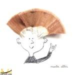 آثار زیبای هنری با تراشه مداد +تصاویر
