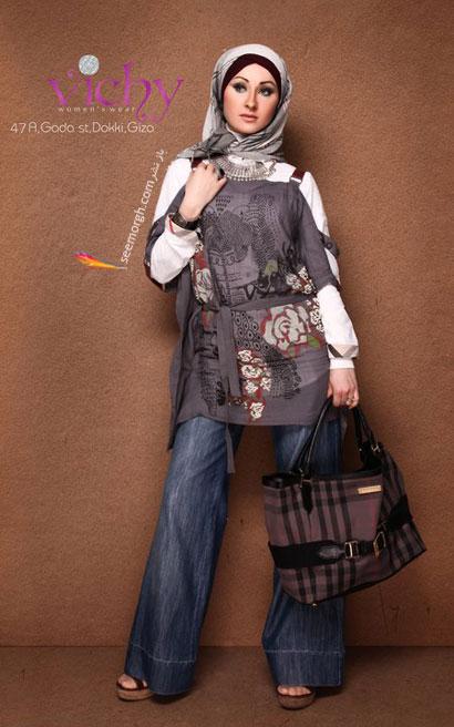 مدل مانتو پاییزی دختران باحجاب