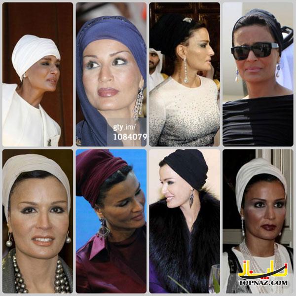 همسر ایرانی امیر قطر