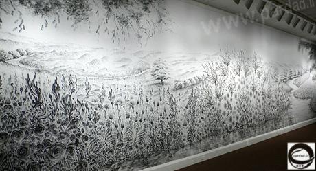 عکس نقاشی های زیبا با زغال