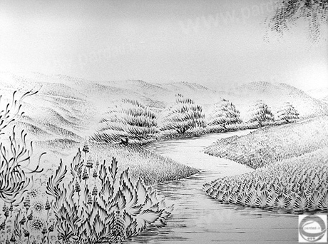 نقاشی با زغال