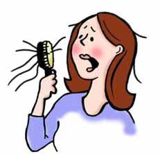 ریزش مو,شوره مو,رشد مو