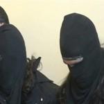 دستگیری تروریست ها با لباس زنانه