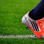 عکس روز: نام تیاگو روی کفش های بابامسی