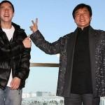 جکی چان و پسرش /عکس