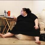 زن 150 کیلویی با نشستن رو شوهرش او را کشت!