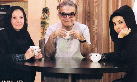 حمید لولایی و همسرش