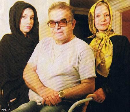 دختر و همسر حمید لولایی