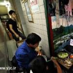 زندگی در توالت به دلیل فقر +عکس