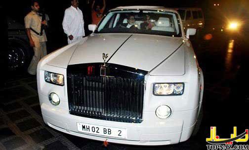 عکس ماشین شخصی آمیتا باچان