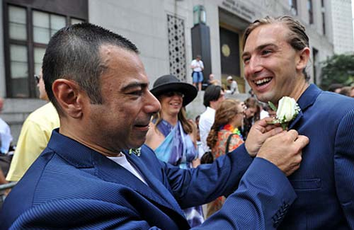 ازدواج مسخره,ازدواج همجنس بازها,ازدواج همجنس گرا
