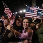 تصاویری از شادی طرفداران باراک اوباما