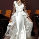 عکس نامزد رونالدو در لباس عروس