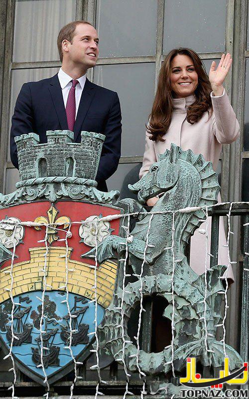 کیت میدلتون و شاهزاده