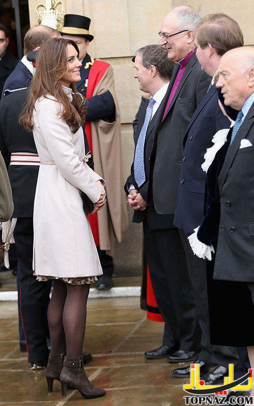 کیت میدلتون در کمبریج لندن