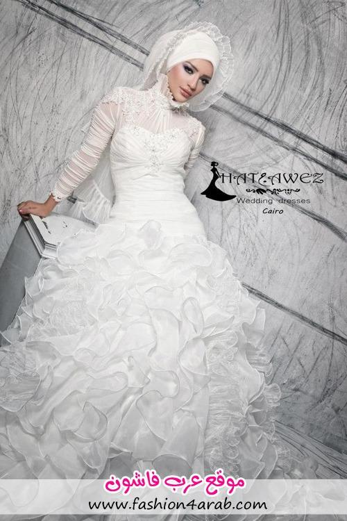 ,مدل لباس عروس پوشیده,مدل لباس عروس محجبه