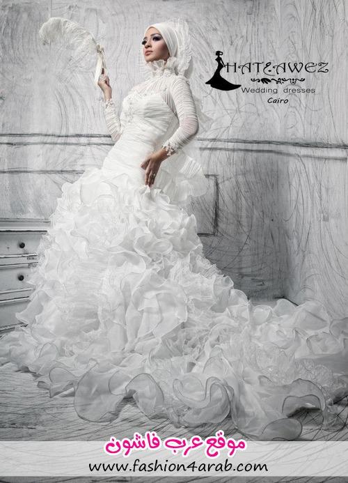 لباس عروس عربی,لباس عروس پفی 2013,لباس عروس پرنسسی 2013,مدل لباس عروس