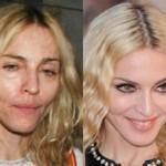 چهره واقعی هنرمندان هالیوودی بدون آرایش