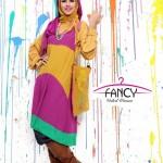 مدل مانتو و لباس رنگی 2013