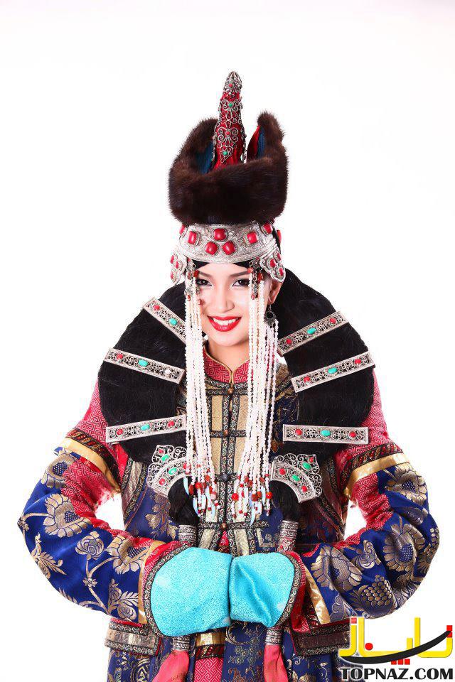 دختر شایسته مغولستان