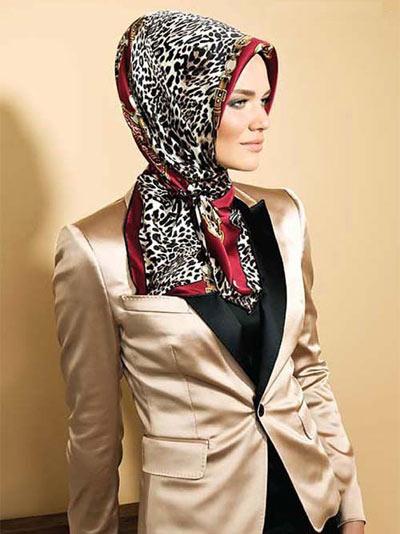 مدل روسری مجلسی ایرانی