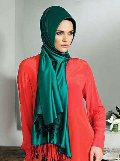 روسری خوشگل مجلسی