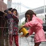 مردم نیویورک بعد از طوفان سندی +تصاویر