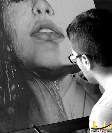 نقاشی جالب,نقاشی طبیعی,نقاشی سه بعدی