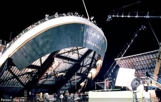 پشت صحنه فیلم تایتانیک