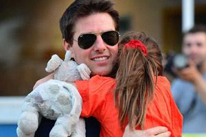 تام کروز و دخترش