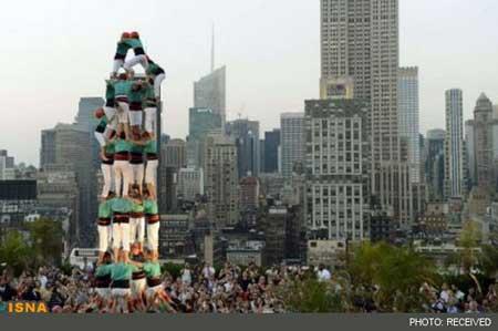 برج انسانی