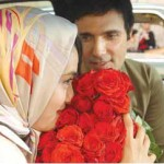 محمدرضا فروتن با دسته گل به دیدار میترا حجار رفت+عکس