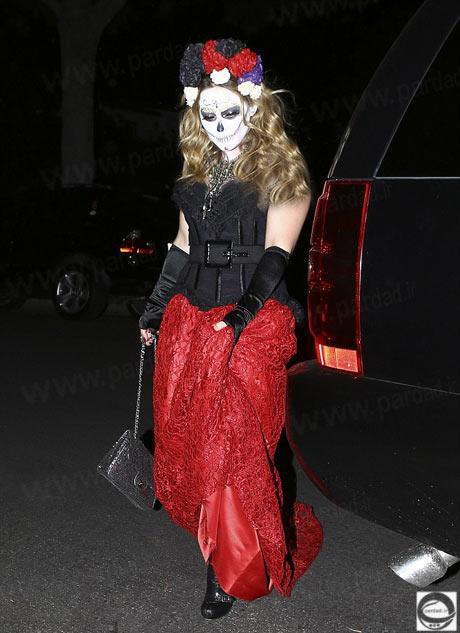 هیلاری داف در هالووین