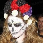 هیلاری داف با لباس جنجالی اش در جشن هالووین +عکس